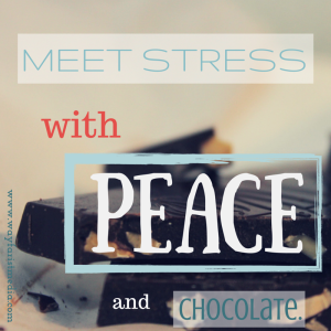 Peace and chocolate